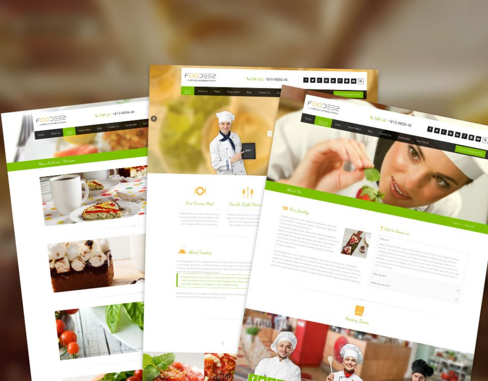 Foodeez WordPress Theme